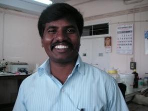 Min handledare Venkateshen