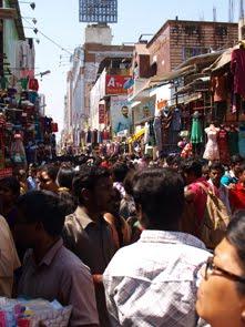 T Nagar huvudstråk