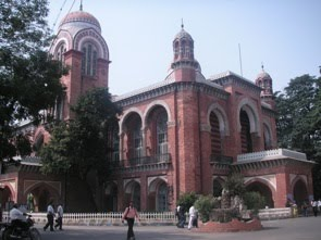 Huvudcampus för University of Madras