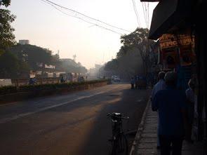 ett sömning Chennai vaknar