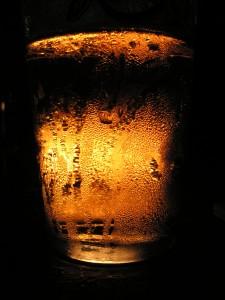 Ett glas öl, foto Per Hedegård