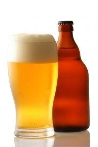 Öl och flaska